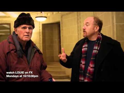 Charles Grodin episode 6 season 4 of LOUIE
