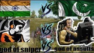 Dynamo gaming vs Pakistani Shroud   Indian PUBG gamer vs Pakistani PUBG gamer   PUBG mobile