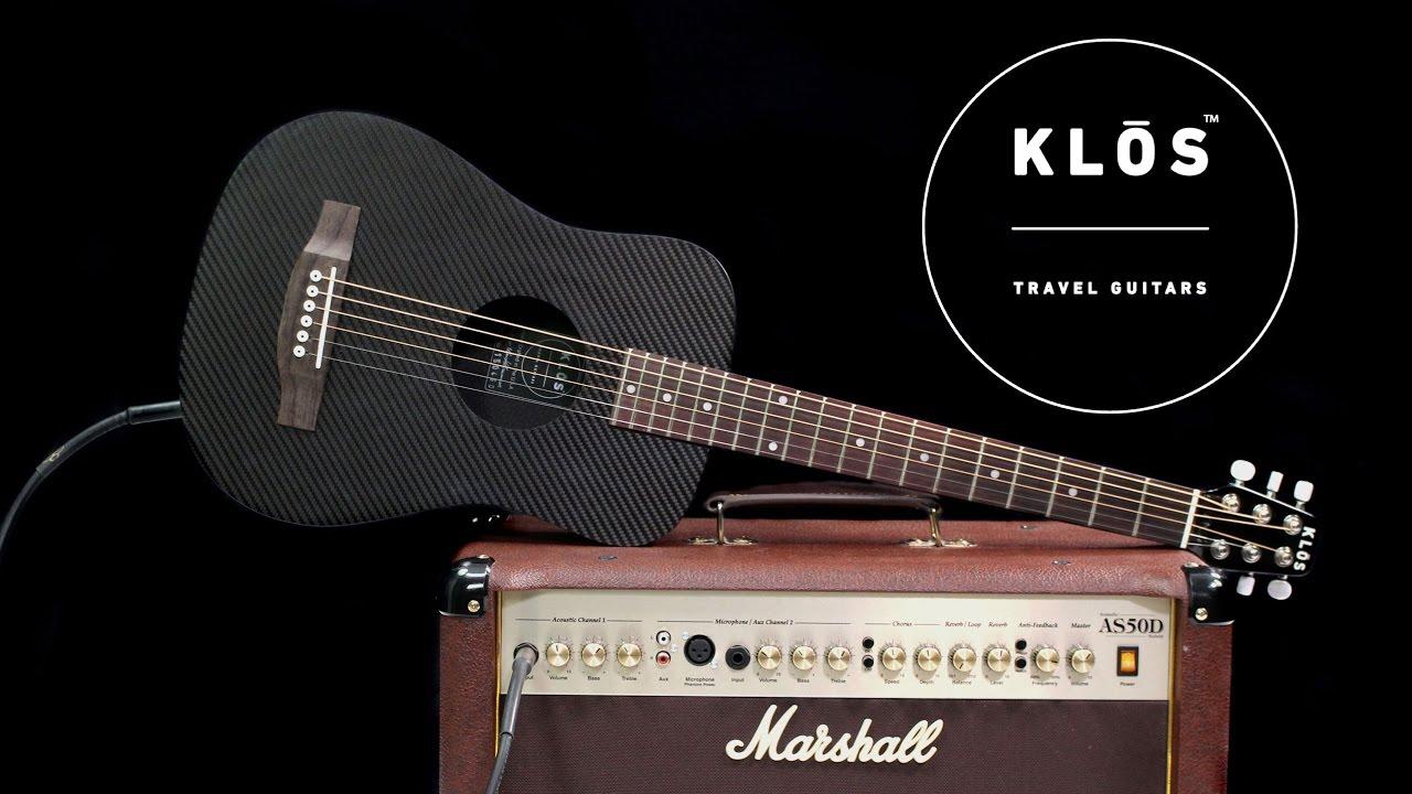 Carbon Fiber Acoustic Electric Guitars   KLOS Guitars