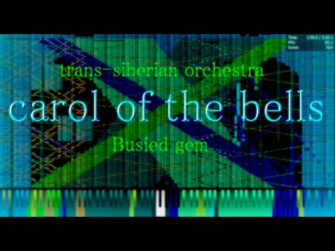 {BLACK MIDI} trans siberian orchestra~carol of the bells 191k~busied gem