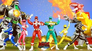 Video Epic Mighty Morphin Power Rangers Animation! & Dino Zord Toy Review! MP3, 3GP, MP4, WEBM, AVI, FLV Januari 2019