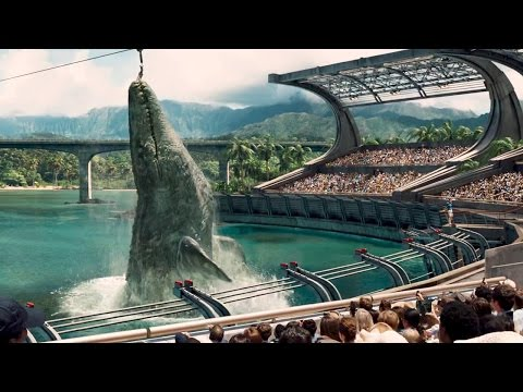 length - JURASSIC WORLD Official Full Length Trailer (2015) ☆Subscribe NOW ▻ http://bit.ly/TRAiLERS ☆ Join us on Facebook ▻http://facebook.com/OnlyBlockbusters The Ju...