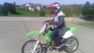 2. The 2008 KX100