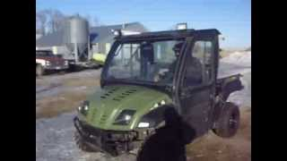 9. Cub Cadet Volunteer EFI UTV Sells 4-2-2014 on Bigiron.com