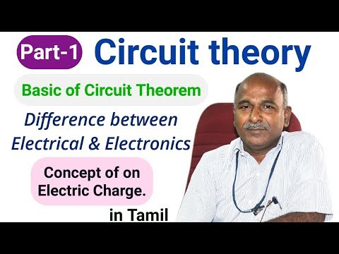 Basics of circuit theory in tamil