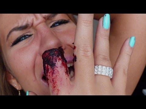 Maquillage Effets Spéciaux : Doigt Sectionné - Bloody broken finger