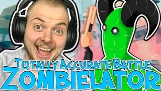 QUEST TO FIND THE GIANT! - TOTALLY ACCURATE BATTLE ZOMBIELATOR! #1