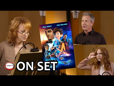 Spies in Disguise - On set Behind the scenes