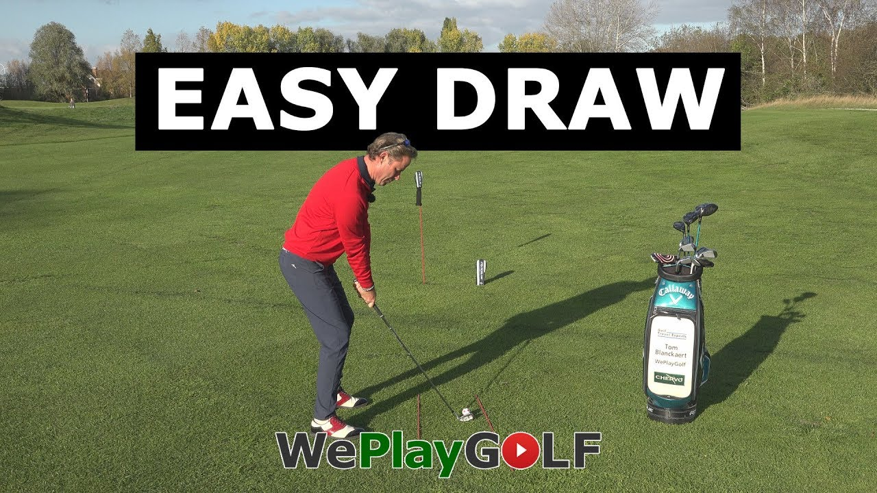 Easy tip to draw the golf ball