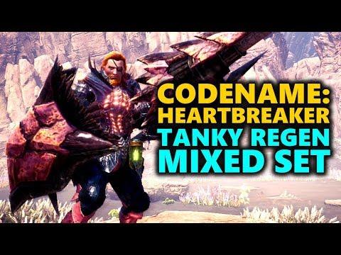 TANK REGEN BUILD - CODENAME: HEARTBREAKER - Monster Hunter World