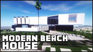 Minecraft - Modern Beach House