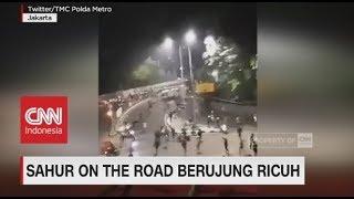 Video Sahur On The Road Berujung Ricuh MP3, 3GP, MP4, WEBM, AVI, FLV Juni 2018