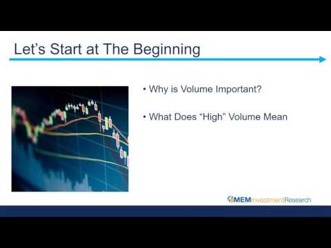 How To Use Volume To Trade Stocks With Mary Ellen McGonagle