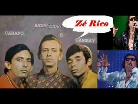 Zé Rico (Cambay), Carapó e Andrezinho - Filho de Bela Vista - Raridade.