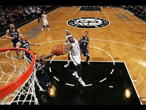 roll - Andray Blatche makes the nice dribble move to get to the rack for the finger roll. Visit nba.com/video for more highlights. About the NBA: The NBA is the pre...