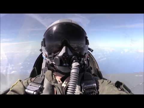 Су-27 «отогнал» истребитель НАТО F-16 от самолета Шойгу (видео)