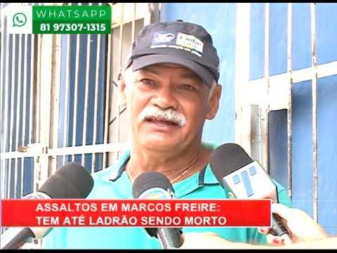 [RONDA GERAL] População do bairro de Marcos Freire vive amendrontada com série de assaltos