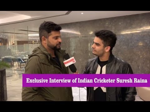 Indian Cricketer Suresh Raina in Jammu