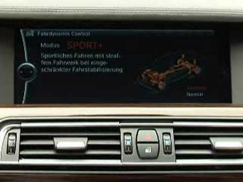 Video: BMW 7 Series F01 Interior Operation and iDrive