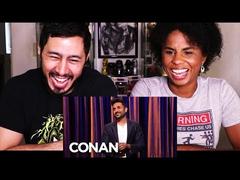 Download VIR DAS STAND UP ON CONAN | Reaction w/ Cortney! HD Mp4 3GP Video and MP3