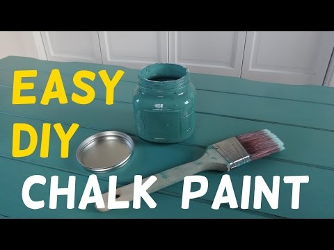 shabby chic - chalk paint homemade