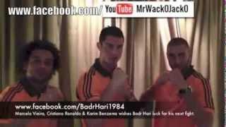 Cristiano Ronaldo et Benzema soutiennent Bad Hari (2 266 fois)