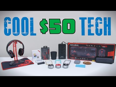 Cool Tech Under $50 - August