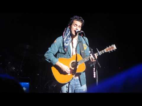 Comfortable - John Mayer singing his song