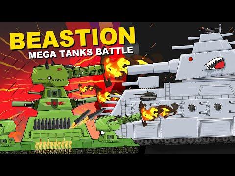 """Battle of Mega Tanks""  Cartoons about tanks"