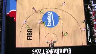 FIBA EuroBasket 2015 Croatia vs Slovenia HD