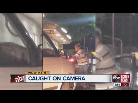 WOW, REALLY?!? ROAD RAGE AT THE DRIVE-THRU?!? (VIDEO)