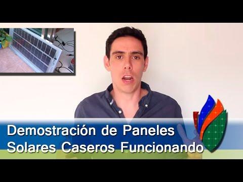 Prendiendo Aparatos Eléctricos con Paneles Solares Caseros