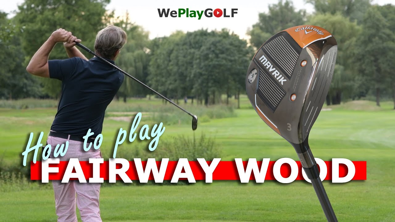 How to hit your fairway wood off the tee and off the ground