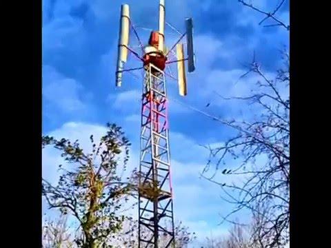 Как сделать ветрогенератор в майнкрафт видео