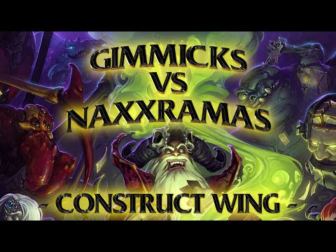 Totalbiscuit - TotalBiscuit weighs his gimmick deck against the newly released Construct Wing of the Naxxramas expansion. Follow TotalBiscuit on Twitter: http://twitter.com...