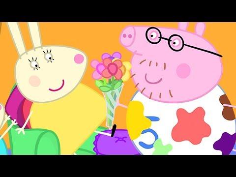 Peppa Pig en Español Episodios  SRA. RABBIT  Pepa la cerdita