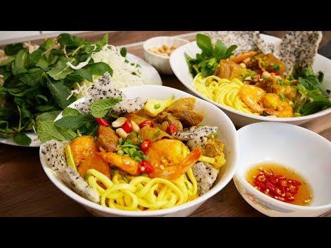 MÌ QUẢNG - Cách nấu Mì Quảng và Tự làm sợi Mì Quảng tươi tại nhà by Vanh Khuyen