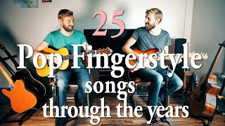 Video 25 Iconic Fingerstyle Songs Through Pop History MP3, 3GP, MP4, WEBM, AVI, FLV Agustus 2018