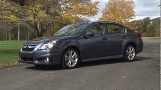 2013 Subaru Legacy - Drive Time Review With Steve Hammes