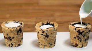 Milk And Cookie Shots Recipe | Eat The Trend