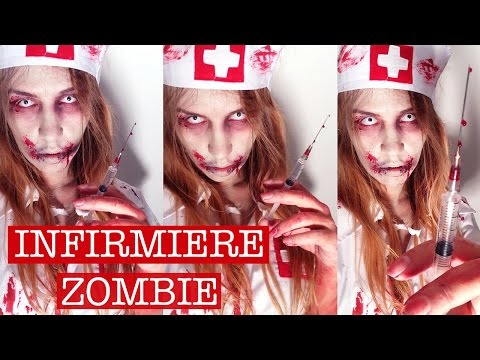 Maquillage Zombie / Zombie Makeup