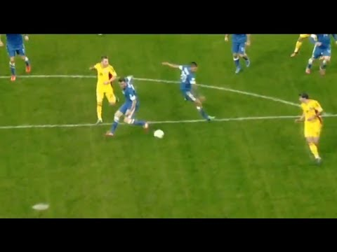 Strangest own goal ever? - Romania v Greece