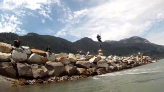 "Video Kitesurfing at ""The spit"" Squamish MP3, 3GP, MP4, WEBM, AVI, FLV Juni 2018"