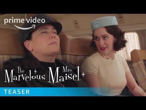 Season 3 The Marvelous Mrs Maisel Trailer | Prime Video