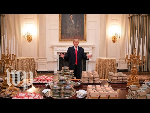 Trump's love of fast food, explained