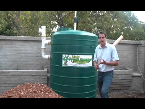 Introduction of Biogas digester -  The Little Green Monster