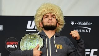 Video Khabib Nurmagomedov UFC 229 Post-fight Press Conference MP3, 3GP, MP4, WEBM, AVI, FLV Oktober 2018