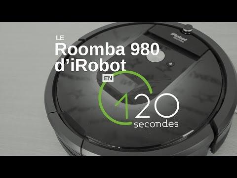 Les Numériques : Le Roomba 980 d'iRobot en 120s