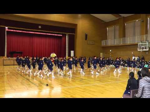 福井しあわせ元気国体・大会ダンス~永平寺町立松岡小学校(2015.2.27)~