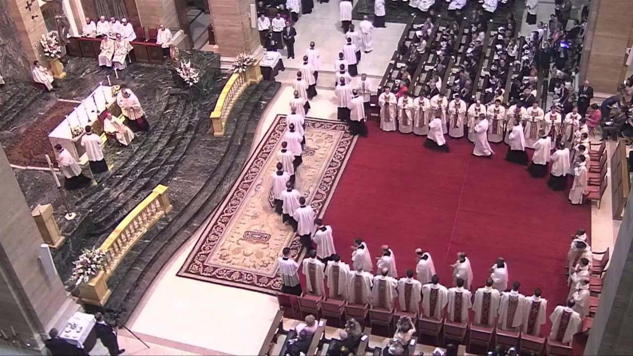 Videoreportage priesterwijding (mei 2014)